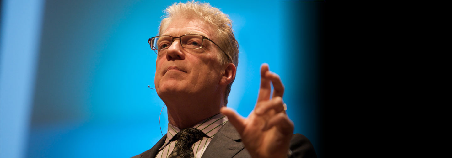 Noted education innovator Sir Ken Robinson to speak at Duffy Center