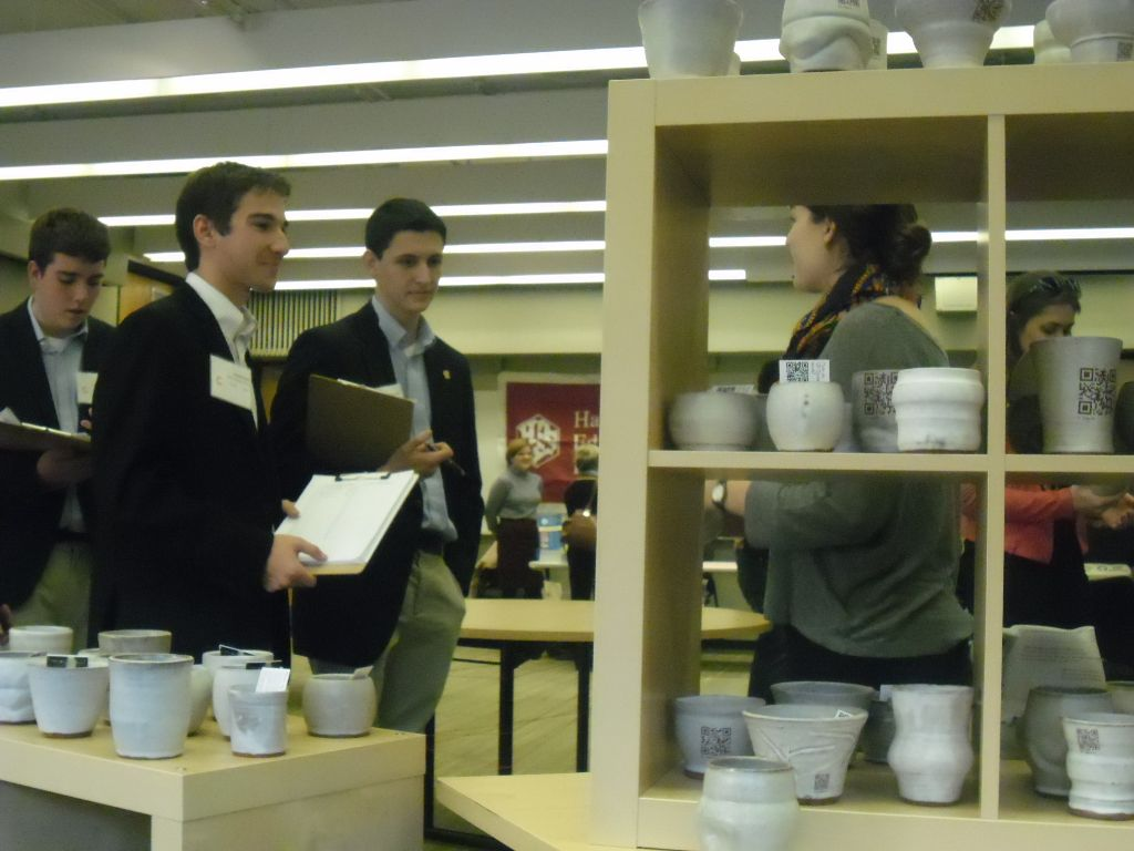 Ceramic Students Install Interactive Art at Harvard University