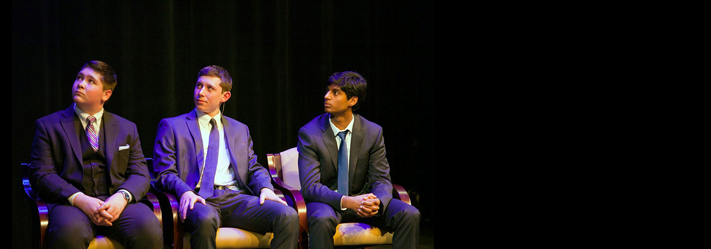 Students Present at Distinguished Lecture Series