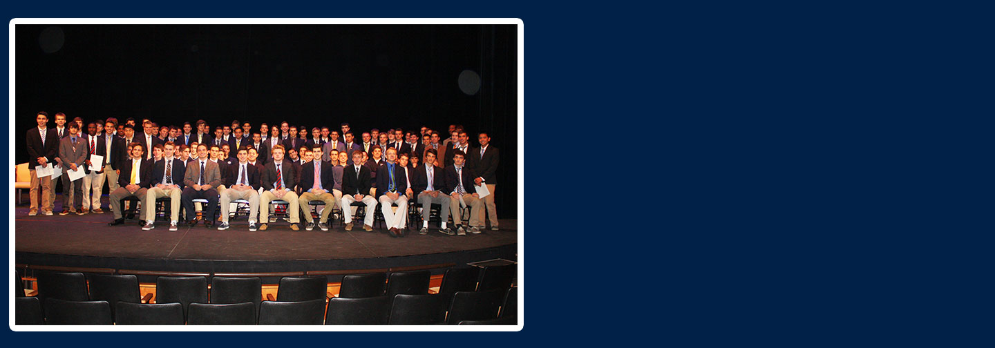 Largest induction for National Honor Society, changes ahead