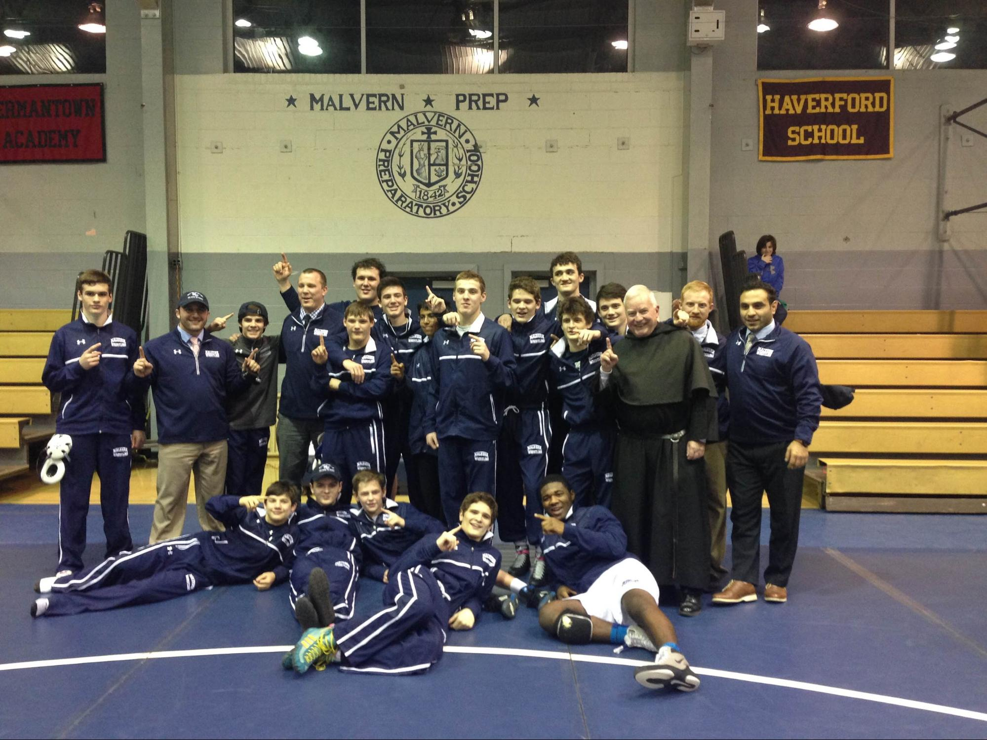 Wrestling Bleaches Its Way to Nationals