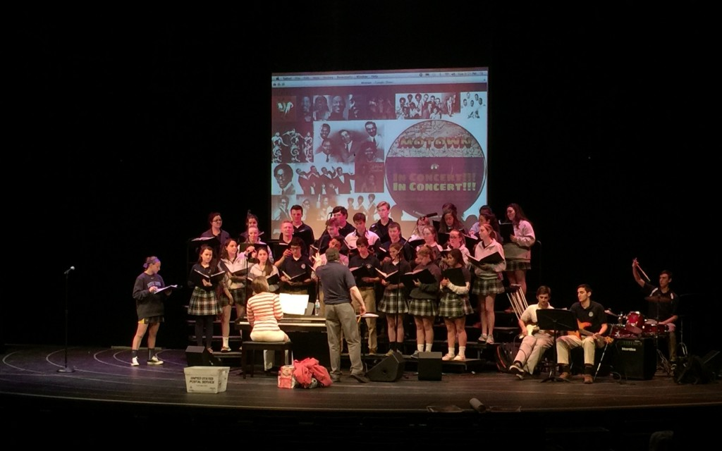 Malvern+and+Notre+Dame+singers+go+old+school+for+Spring+Concert
