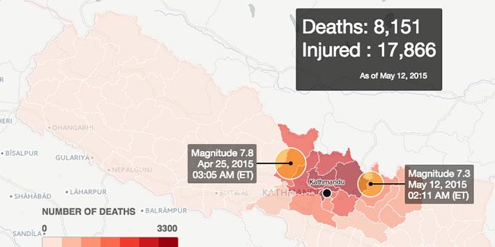 Devastation+in+Nepal