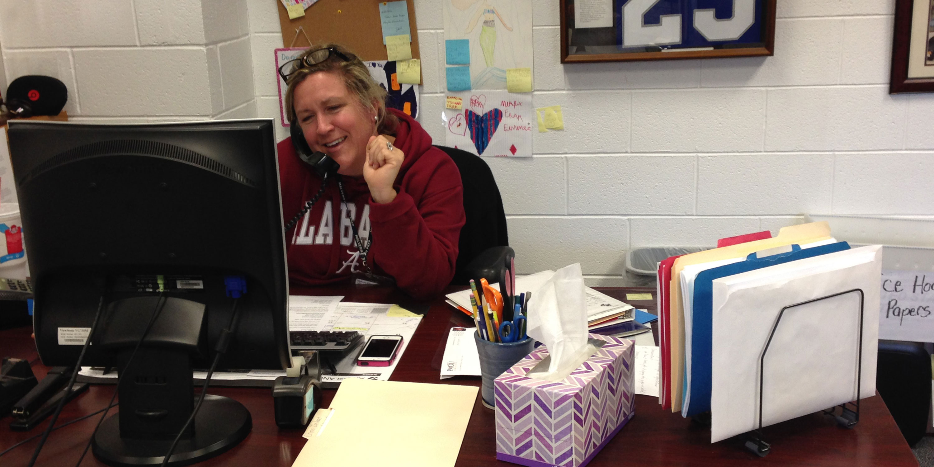 Campus Hero of the Issue: Mrs. MaryFran Frankenheimer