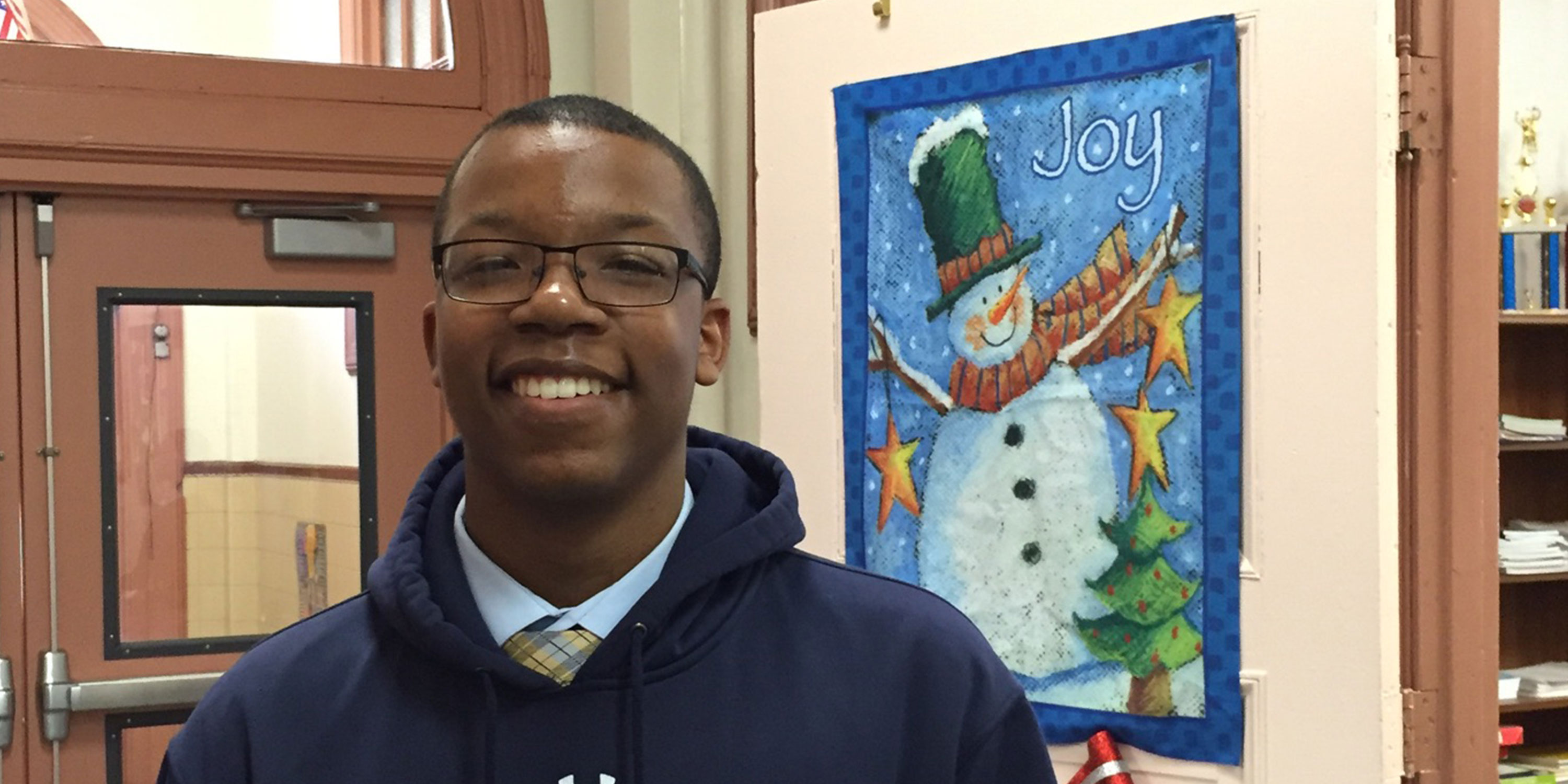 Student of the Issue: Zamir Shelton '18
