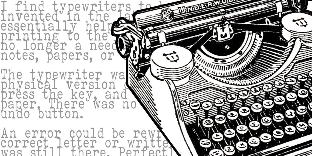 Typewriting+a+New+Revolution