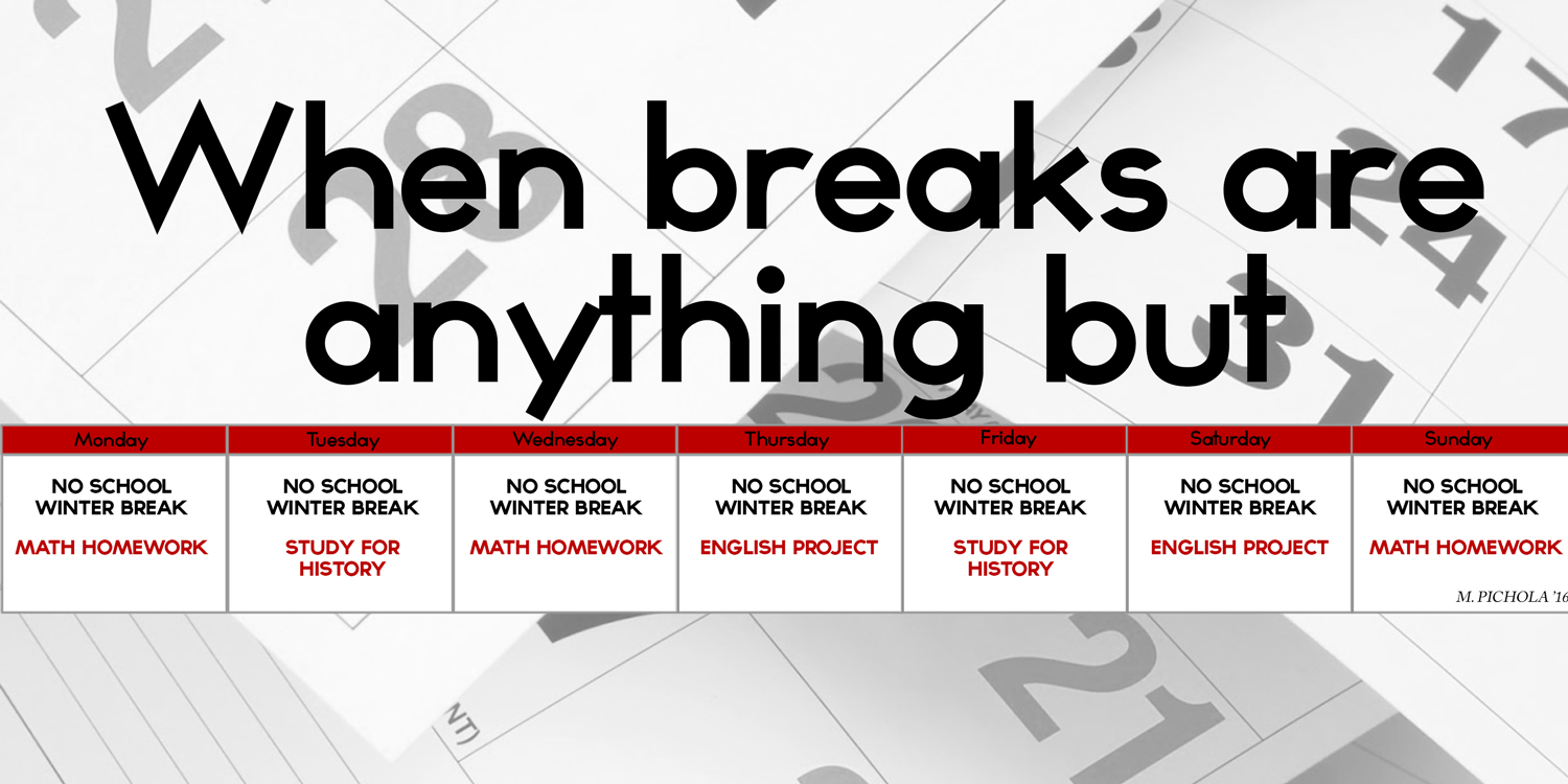 When breaks are anything but