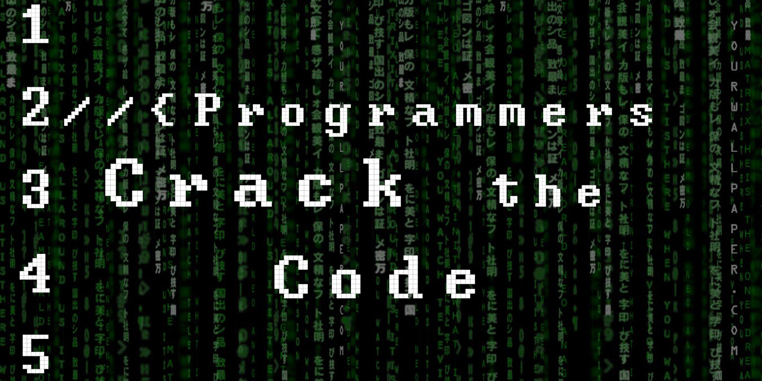Programmers crack the code