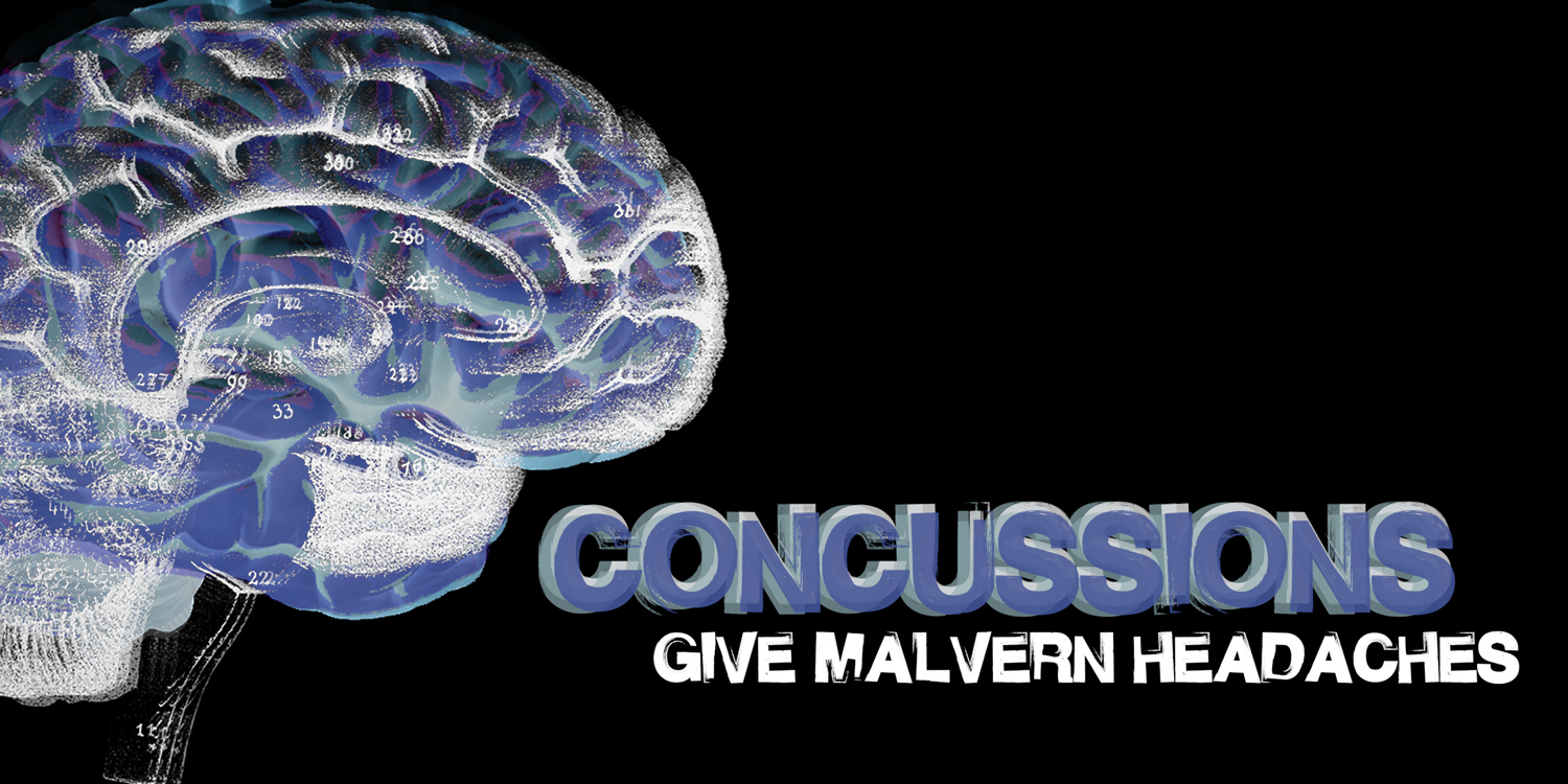 Concussions give Malvern headaches