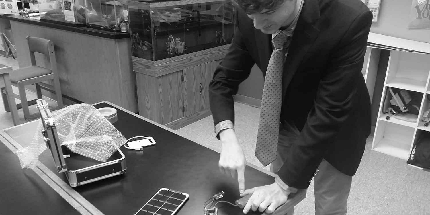 Physics students develop new technology from scratch