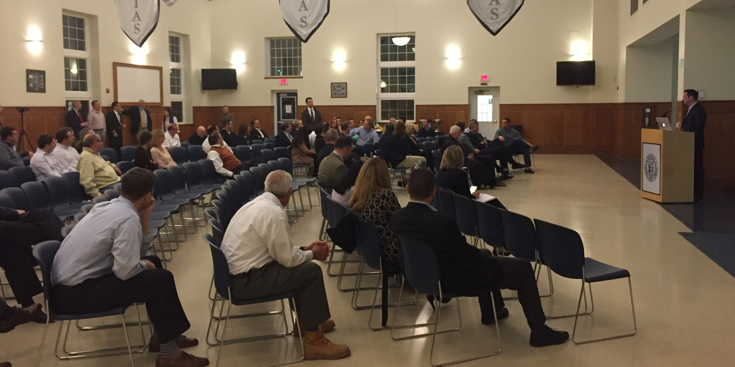 Strategic plan discussed at town hall