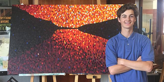 Artist of the Issue: Nick Rubino '16