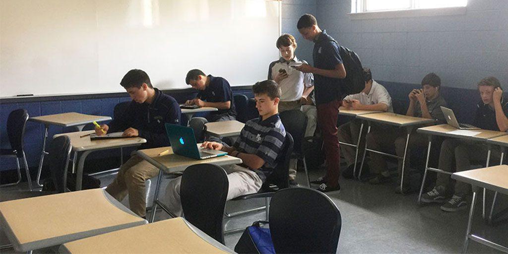 Freshmen+adjust+differently+to+high+school+workload