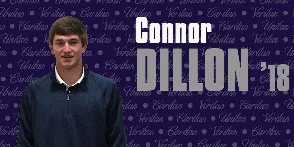 Athlete+and+scholar+Connor+Dillon+%E2%80%9918+feels+the+brotherhood