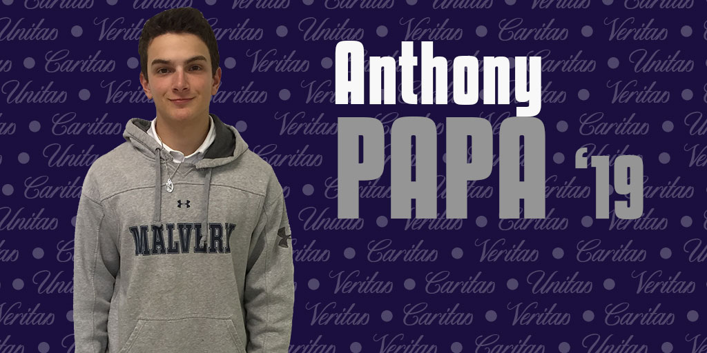 Anthony Papa '19 drums his way through high school