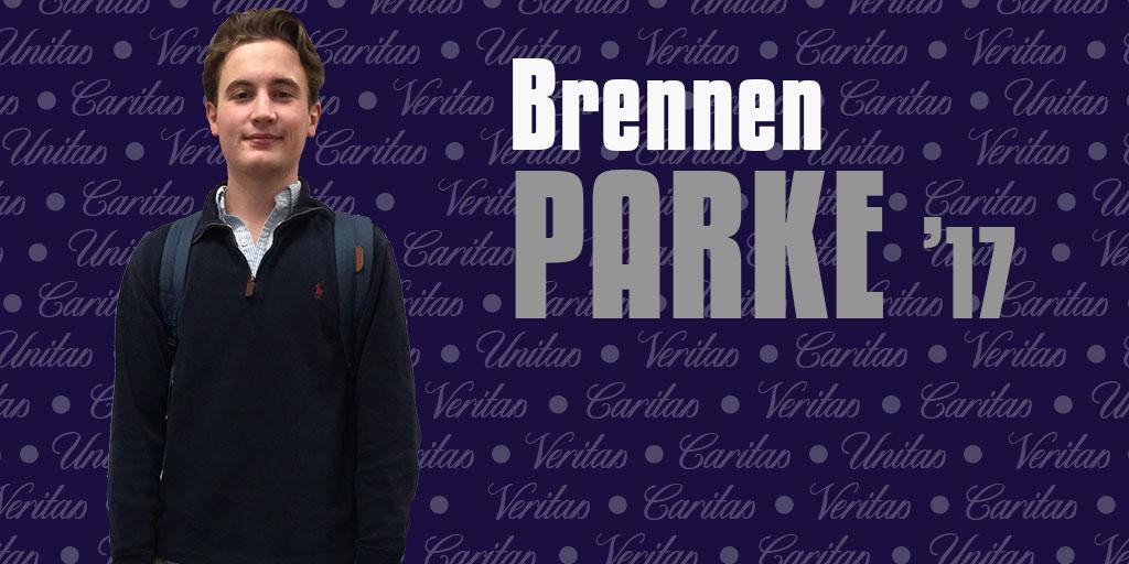 Nostalgia already setting in for Brennen Parke '17