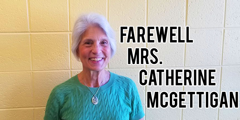 School Nurse Mrs. Catherine McGettigan moves to part-time
