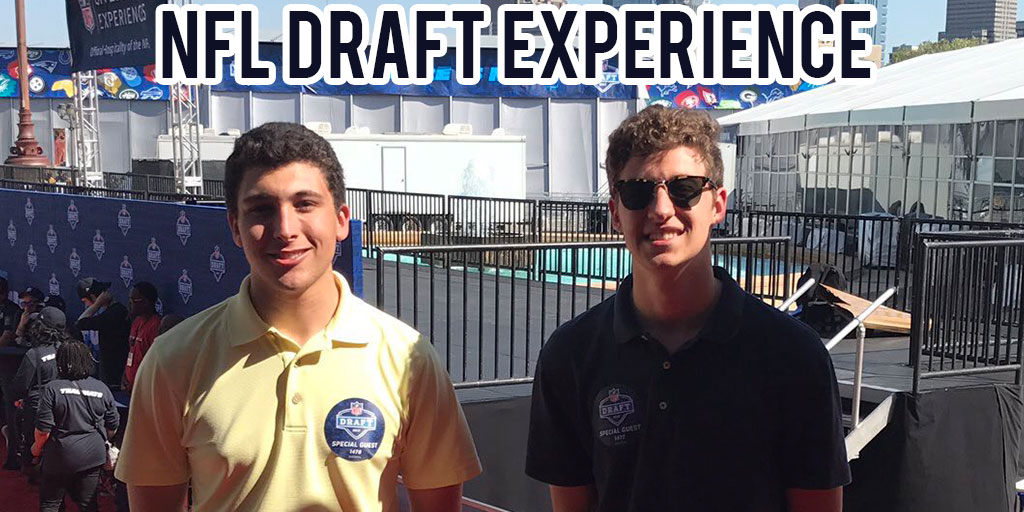 Our time at the NFL Draft