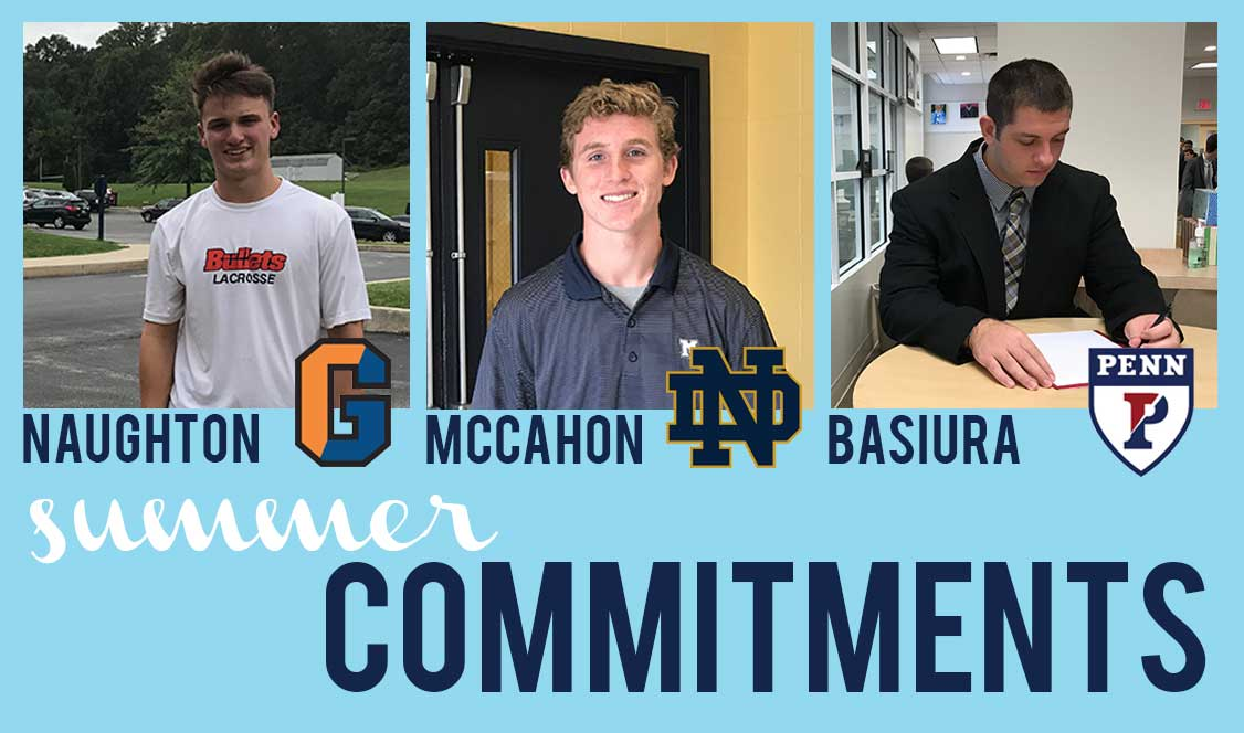Friar Athletes commit over the Summer