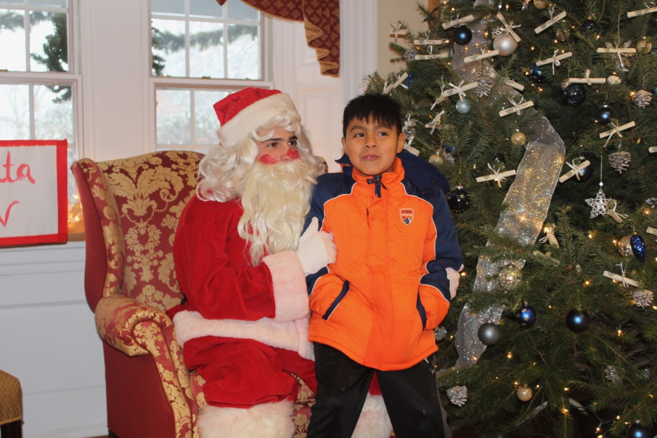 PHOTOS: Malvern hosts Christmas Party for Norristown families