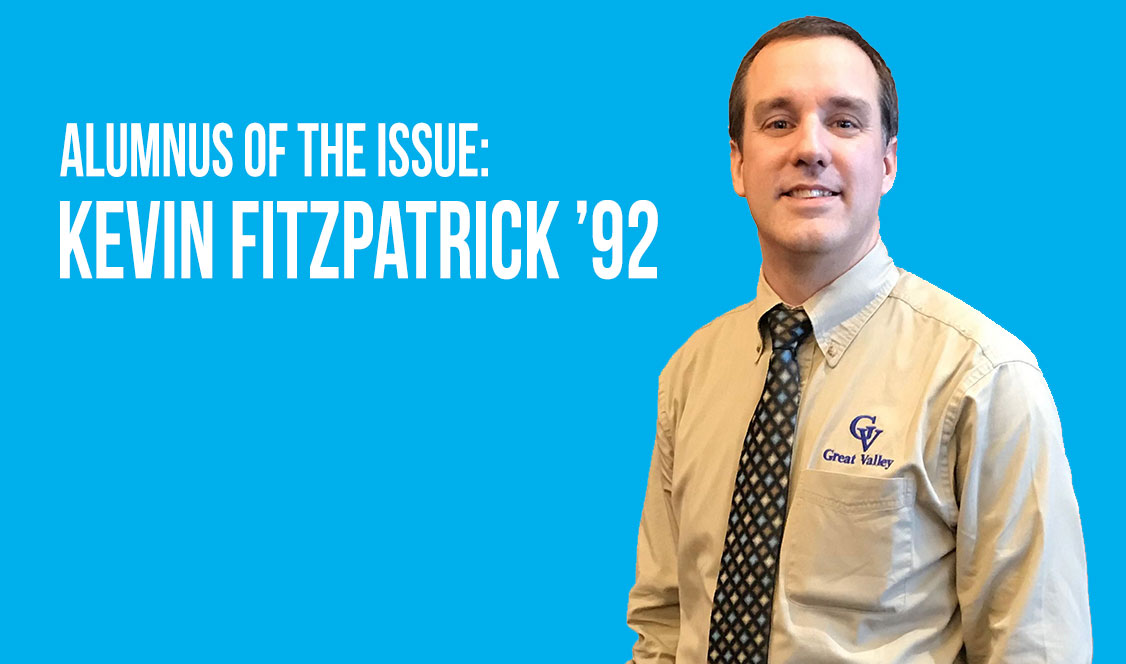 Alumnus of the Issue: Kevin Fitzpatrick '92
