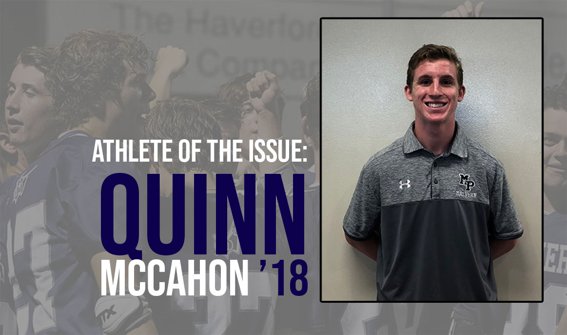 Athlete of the Issue: Quinn McCahon '18