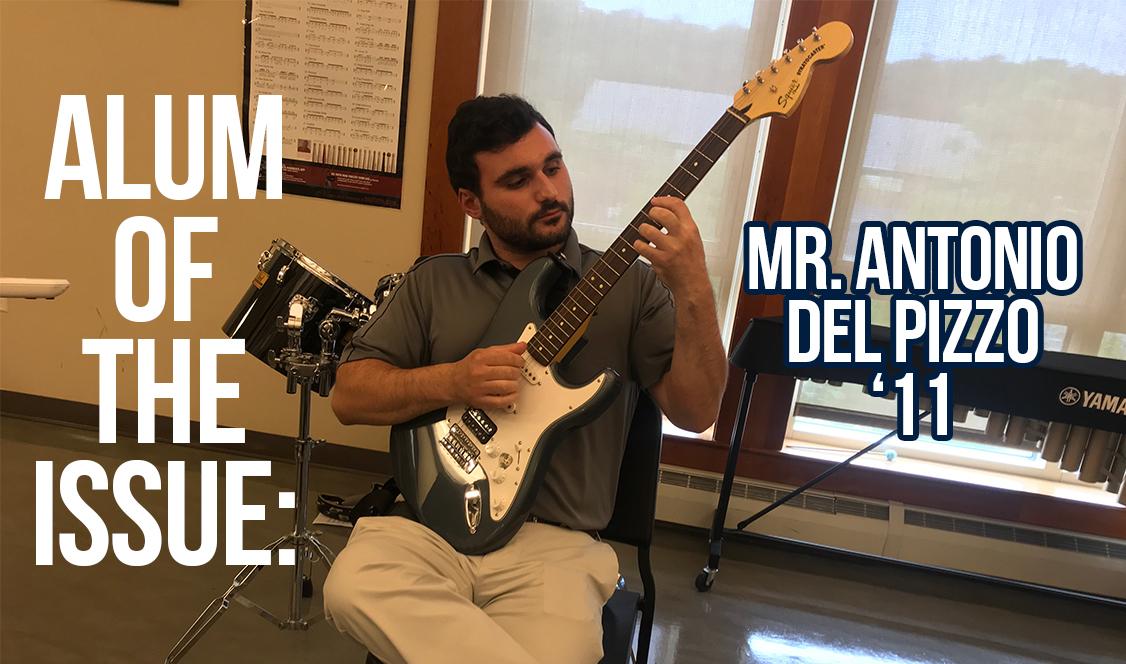 Alumnus of the Issue: Antonio Del Pizzo '11