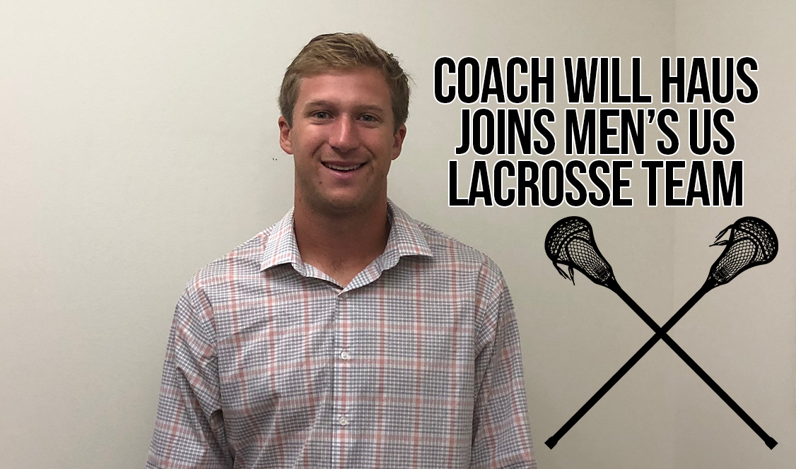 Coach Haus named to U.S. Men's National Lacrosse Team
