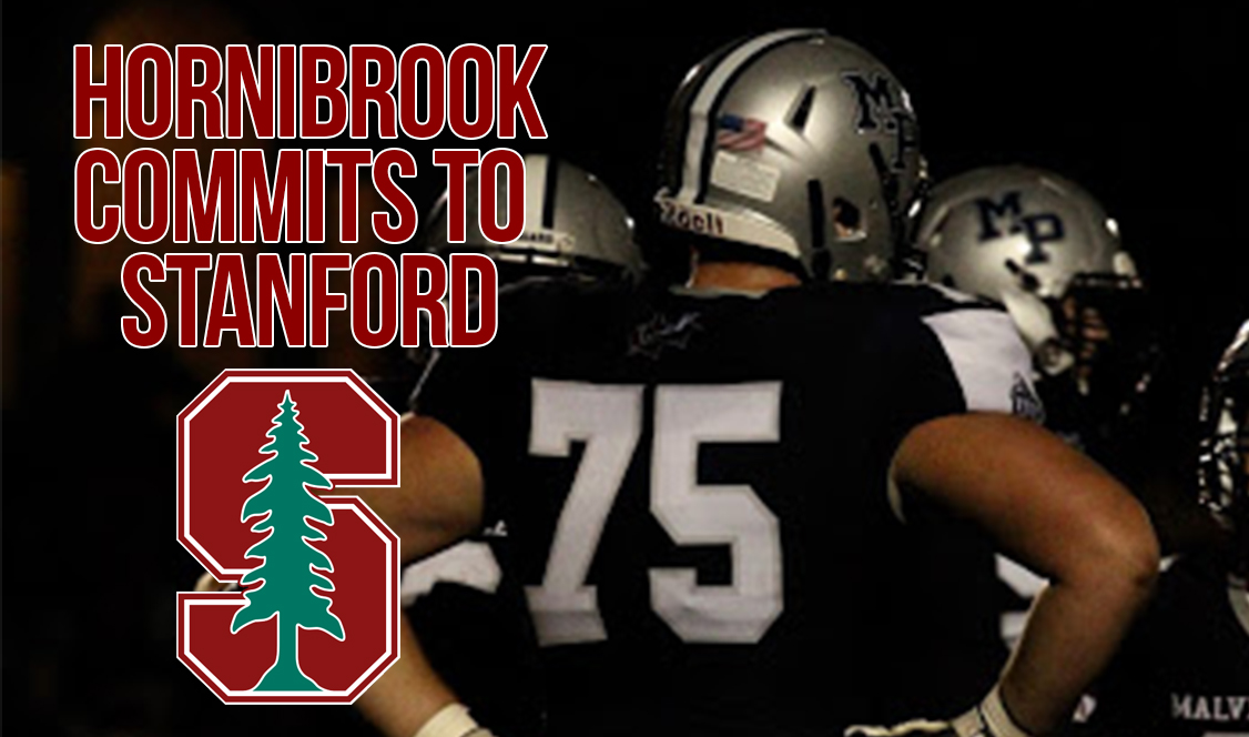 Hornibrook commits to the Stanford Cardinal