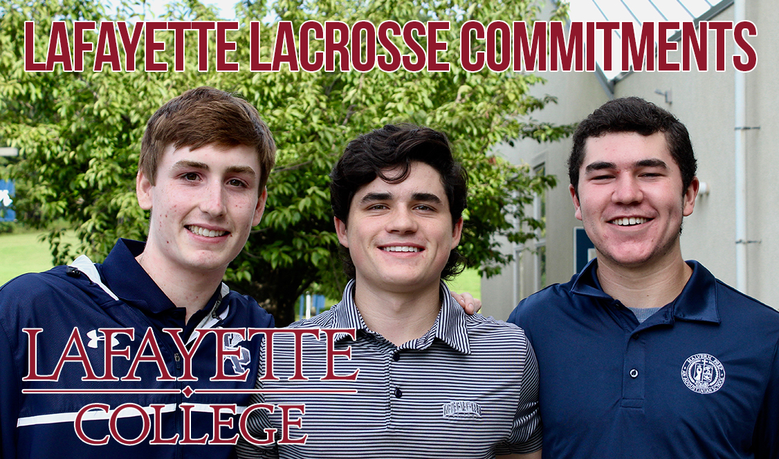 Lafayette lacrosse lands three Malvern commits