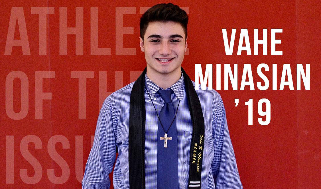 Athlete of the Issue: Vahe Minasian