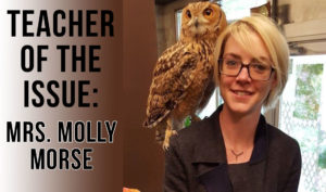 Teacher of the Issue: Mrs. Molly Morse
