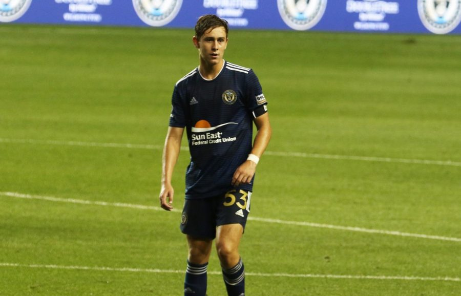 Sean Bettenhausen '21 makes USL debut