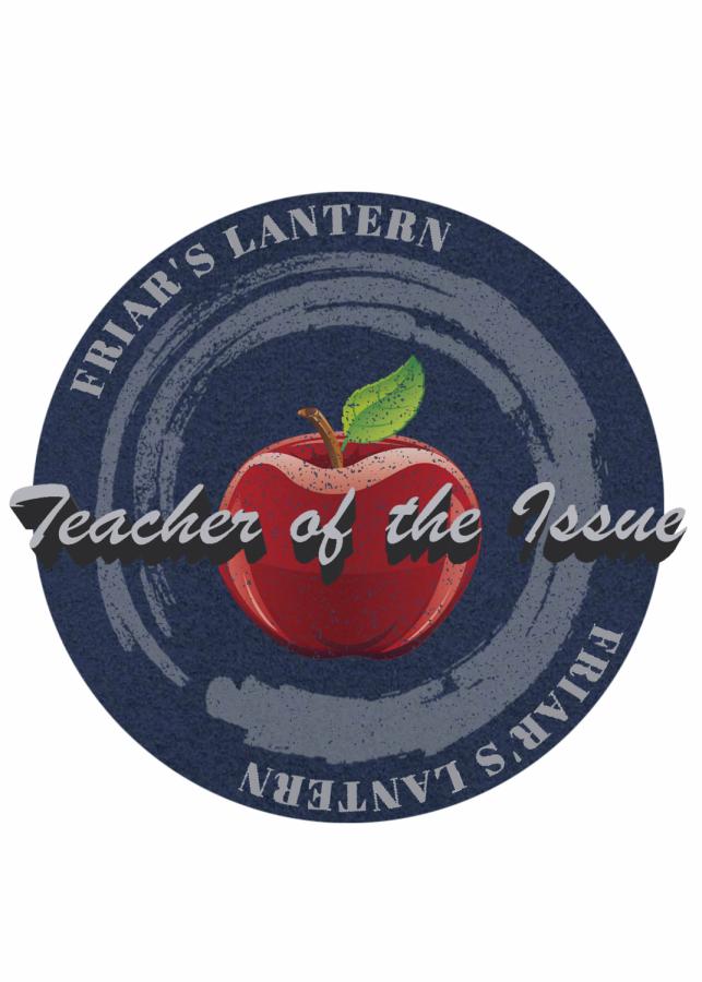 Teacher of the Issue: Mrs. Mary Fran Frankenheimer