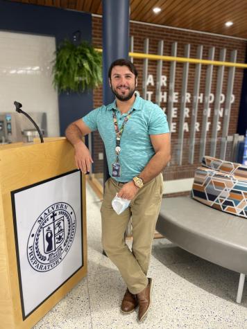 New Teacher: Mr. Michael Perry