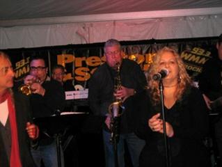 Dels Groove rocks Camp Out for Hunger on Preston & Steve