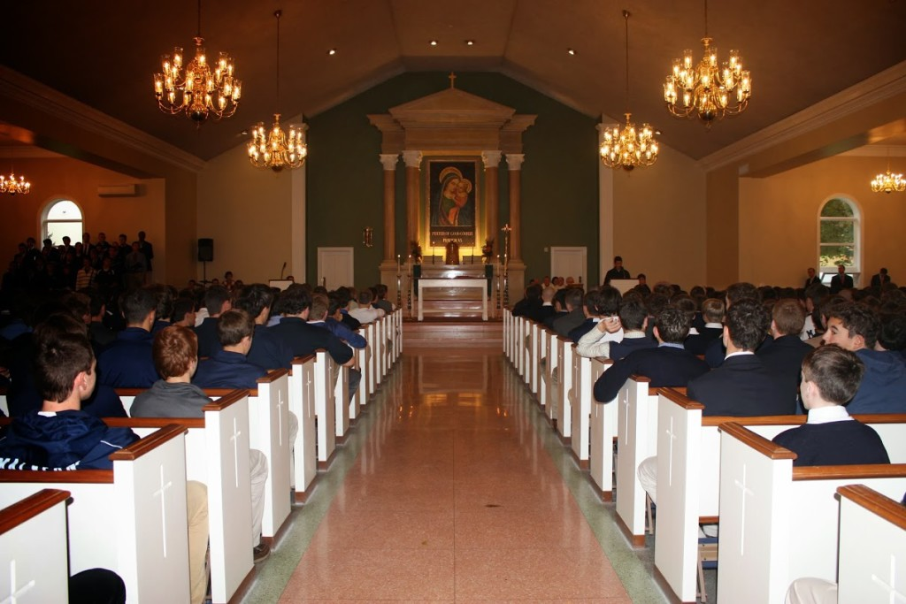 First+Mass+Held+in+Newly-Renovated+Chapel