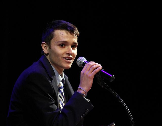 Ryan+Doane+%2715+offering+his+presidential+candidate+speech