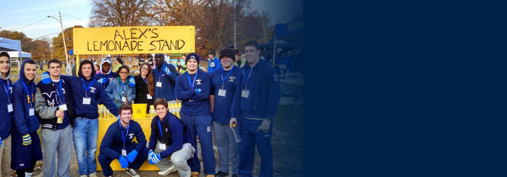 Malvern football players volunteer at Lemon Run