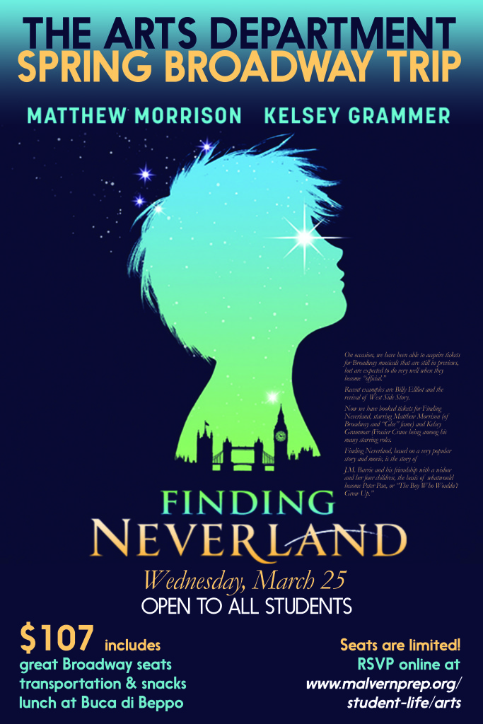 Students+to+attend+Finding+Neverland+on+Broadway