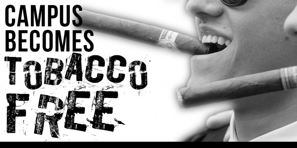 Campus+becomes+tobacco+free%2C+ends+graduation+tradition