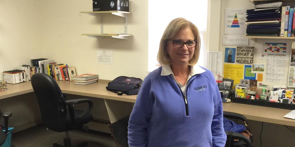 Teacher of the Issue: Mrs. Harriet Lappas
