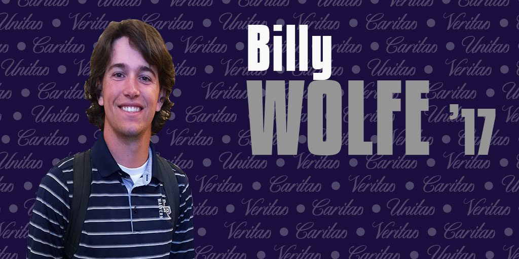 Meet the scampi master: Billy Wolfe '17