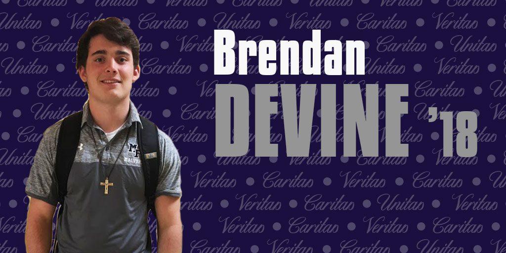 Navy hopeful Brendan Devine '18 considers life after Malvern