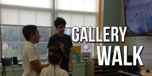 Malvern holds first all Middle School Gallery Walk
