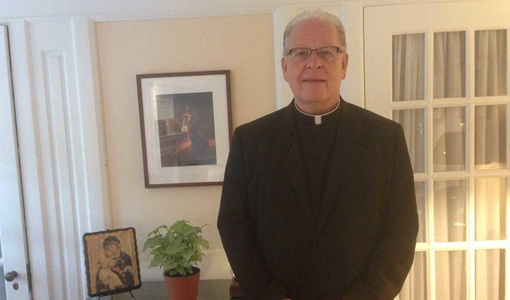 Fr. Reilly adapts to Malvern community
