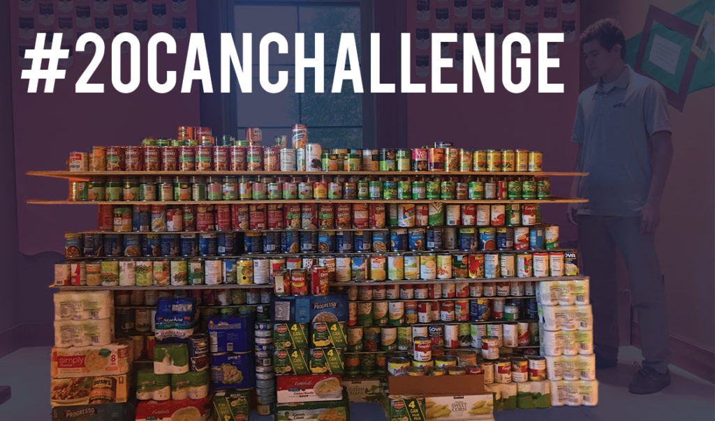 #20canchallenge supports communities with Homecoming incentive