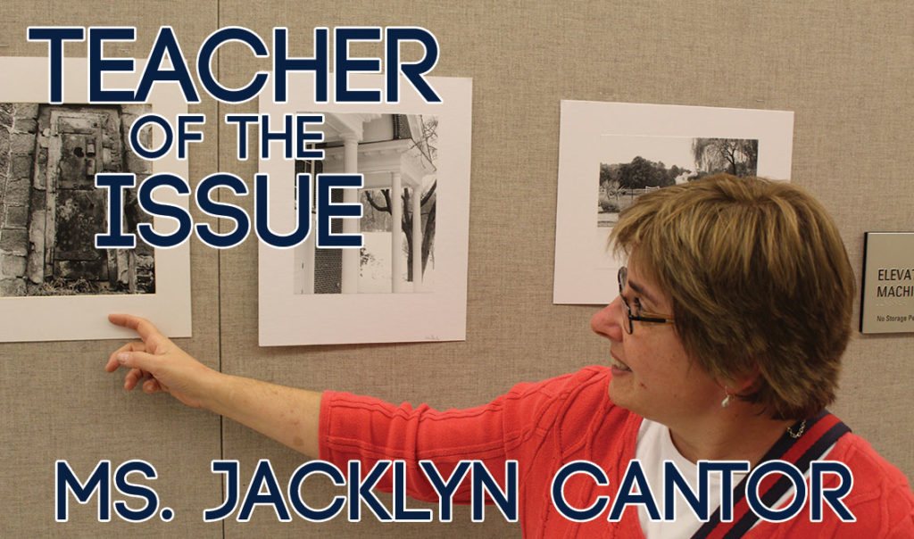 Teacher of the Issue: Ms. Jaclyn Cantor