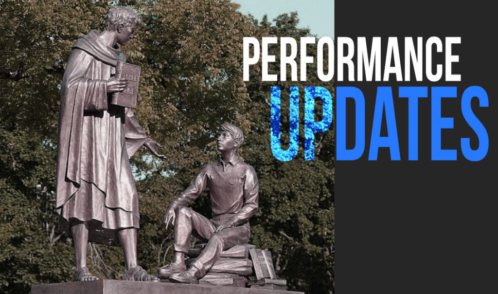 Malvern reacts to first wave of performance updates
