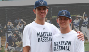 Two Friars, two baseball players, one destination